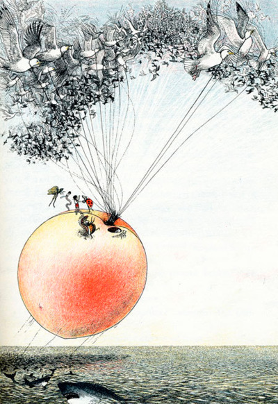 theartofanimation:  Nancy Ekholm Burkert, James and giant peach