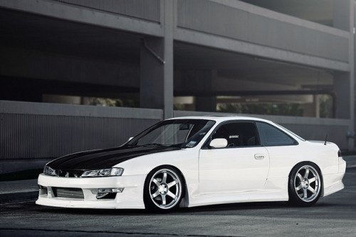 kevinnc:  MaydayGarage.com: Aubre's 240SX by J. Evins on Flickr.