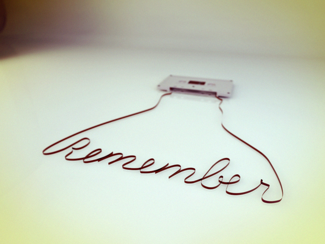 Remember (Cinema 4D+Photoshop)