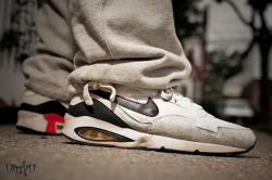 "Nike Air Max ST OG ""White/Blk-Hot Red"" on Flickr.Heather Grey OG's"