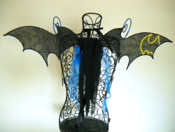 Batman Inspired Fairy Wings