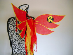 Robin Inspired Fairy Wings