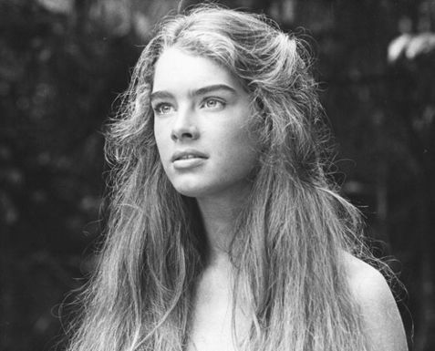 Brooke Shields in The Blue Lagoon - 1980