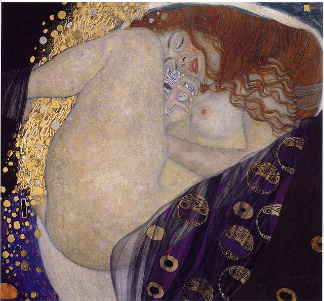 Gustav Klimt Danae by griffinlb on Flickr.
