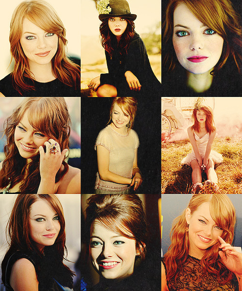 beebrr:  22 RIDICULOUSLY FLAWLESS PEOPLE → Emma Stone