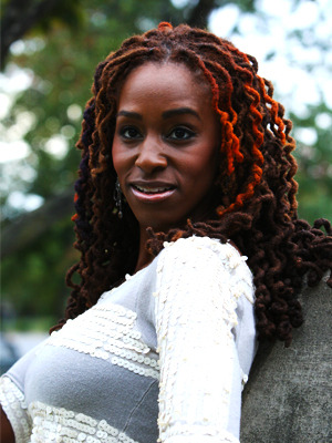 livelaughlovelocs:  April Atkinson, owner of Lockstar Natural Hair Salon