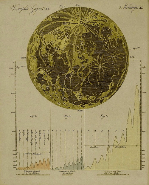branchandblaze:  Bilderbuch für Kinder, Moon Map, 18th century