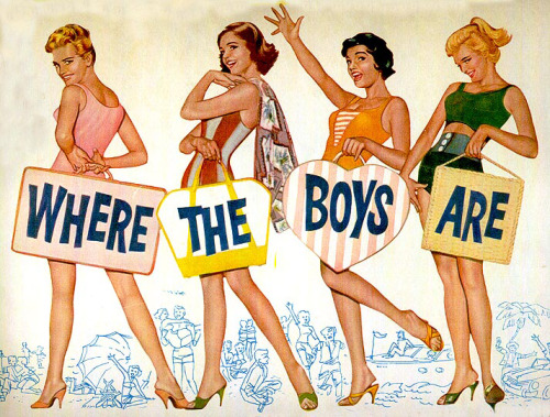 vintagegal:  Where the Boys Are (1960)