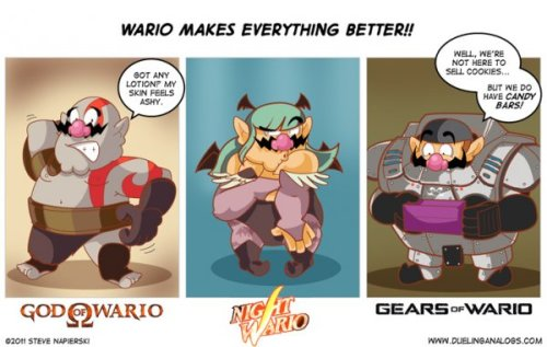 lilaznshine:     Wario Makes Everything Better