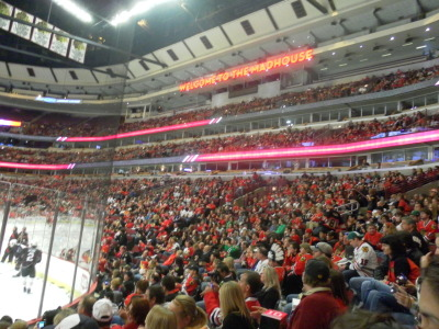 sarahcamm:  my favorite place in chicago :)  yay hockey season!