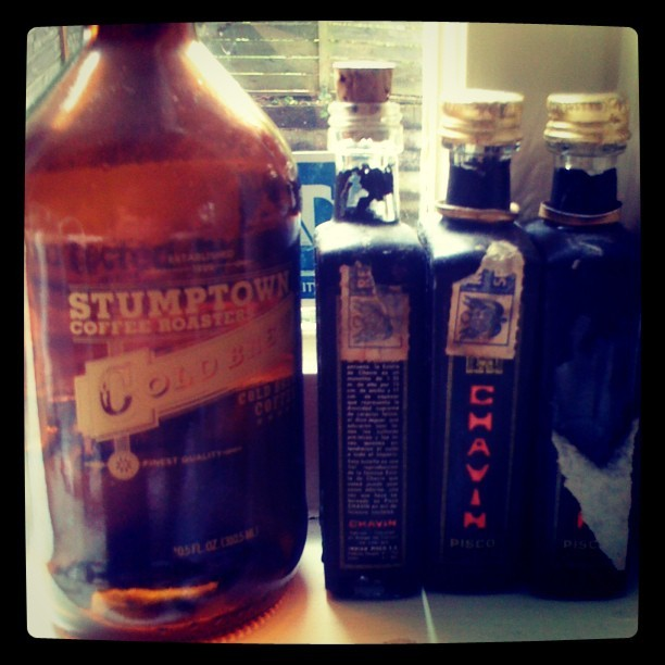 Good company @stumptowncoffee  (Taken with Instagram at City of Portland)