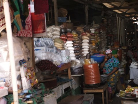 Places in GhanaMakola Market, Accra