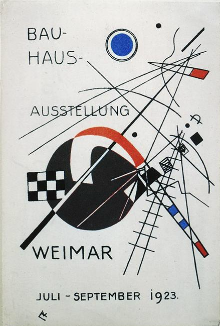 Wassily Kandinsky, Postcard for the Bauhaus Exhibition Weimar of 1923, 1923