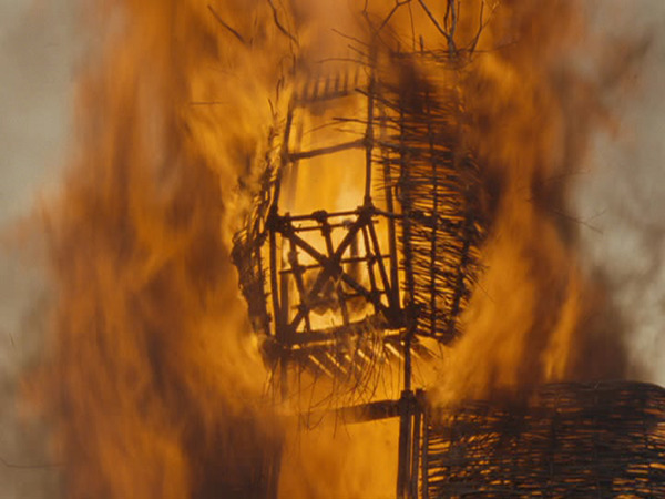 Expression: A good ol' fashioned Cage-B-Q Film: The Wicker Man