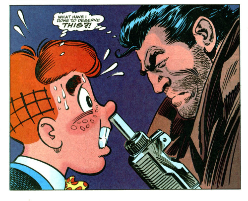 luinthond:  The punisher meets Archie