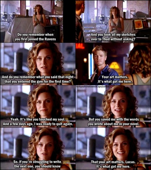 frigginonetreehill:  One Tree Hill 5x02 Racing Like A Pro