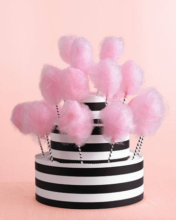 enchanteeamelie: Cute… Cotton candy cake