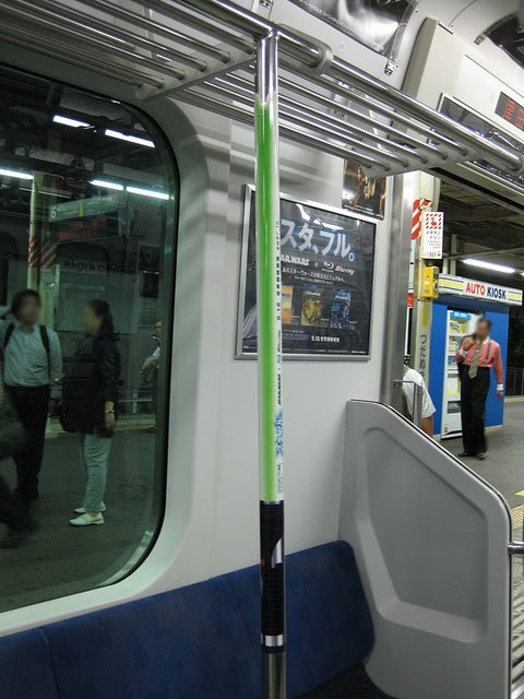 fortheyoungdude:  Lightsaber Subway - so cool! More here.