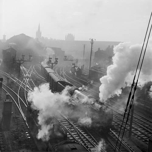 King's Cross, London, c1950.