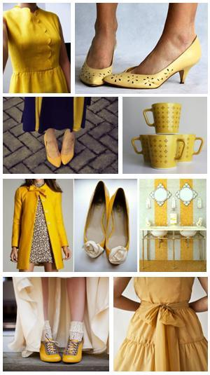 kissedbyarosevintage:  all about yellow…