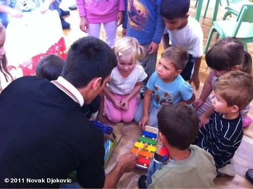 "View more Novak Djokovic on WhoSay I was on the field visit to pre-school ""Pcelica"" in Smederevo as ambasador for UNICEF for early childhood education. I had a lot of fun with kids, they were so eager to play and ask questions and show their little talents. I hope to see more of these kind of institutions which integrate children from all areas, and children with disabilities and Roma children. Every child deserves oportunity to grow in clean, healthy environment where they can play and learn and reach their potential."
