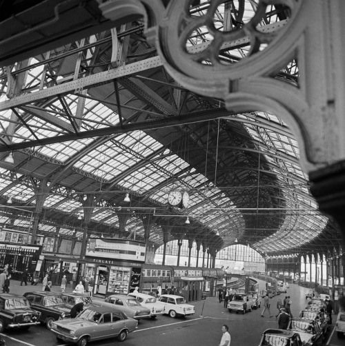 Brighton Station, Brighton, East Sussex, c1970s.