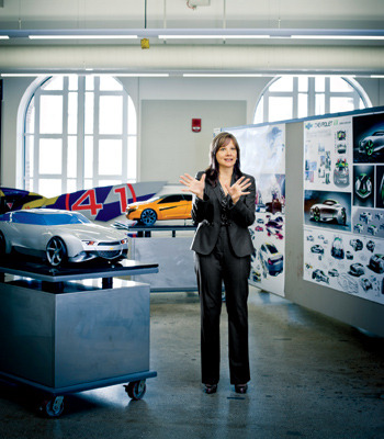 Mary Barra's job: to make every GM car sleeker, sharper, and more efficient. Oh, and can she design and build them faster too?