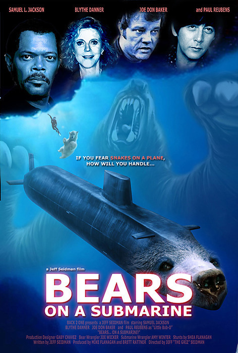 THIS IS GOING TO BE EPIC! #SamuelLJackson #BearsOnASubmarine! memewhore:  Prickly, I am so gonna Samara your ass.