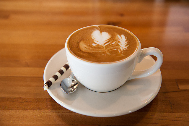 Nice Cappuccino by -Dons on Flickr.