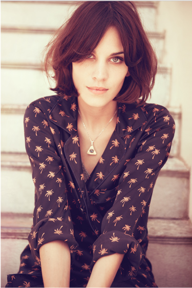 Getting this blouse before selling out made my week. Alexa Chung for Madewell.