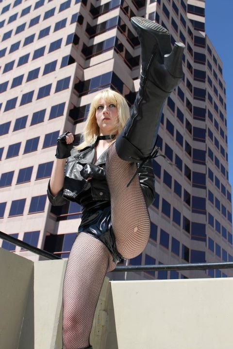 Kate McCullough as Black Canary Submitted by Kate McCullough
