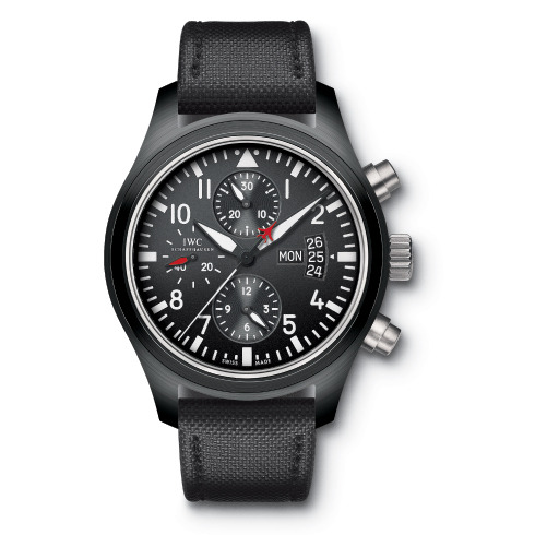 As Justin Theroux shows in GQ's October issue, this lux IWC watch is bold, black, and pretty badass. Stylish and made to last, it's the kind Pacino would approve of. More info here.