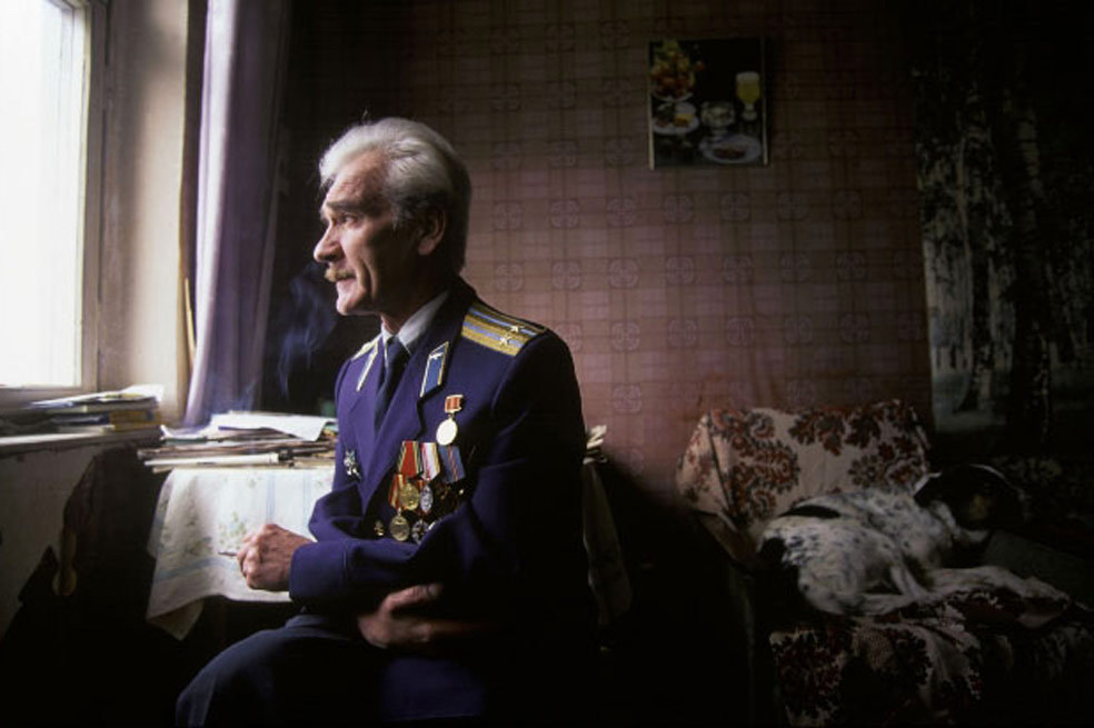 theremina:  The man who saved the world: Stanislav Petrov was manning surveillance equipment for the Soviet Air Defense Forces when he noticed something strange on the screen.  Soon after, warning signals started flashing with the report of an incoming nuclear missile from the USA. Seeing only one missile, he figured it was a mistake, assuming Americans wouldn't send only one missile if they wanted a nuclear war.   Soon thereafter, many more started appearing on the screen.  Nevertheless he trusted his instincts, and rather than contact his superiors he waited to see what would happen.  He waited past the perceived time on impact.  There was no damage - the warnings were due to a system malfunction. Had Petrov not defied protocol and contacted his superiors, a real retaliatory strike may very well have been fired in response - igniting nuclear war between the USA and Soviet Union. (picturesofwar)
