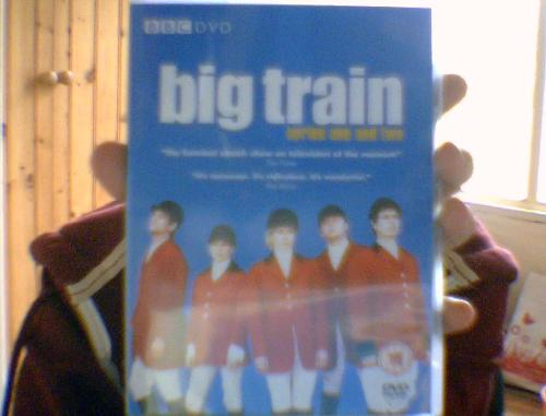beyond—amazing:  Big Train Series Acquired: +2Overall happiness: +25Social life: -15Fucks given: 0