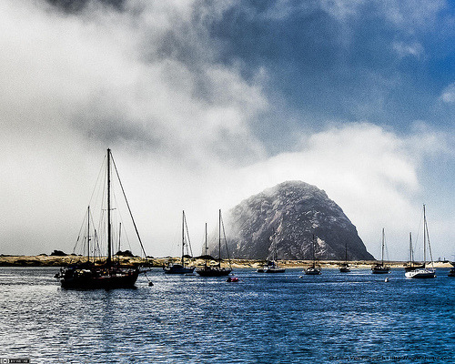 Morro Bay Harbor (by chuqui)