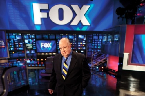 "In this week's Newsweek, Roger Ailes talks about Fox's quite ""course correction"" following Glenn Beck's rants over Obama being racist and Sarah Palin being touted as the GOP's savior. Ailes even directed his people to tone things down following the Gabrielle Giffords shooting. But don't mistake him for a political operative—fostering friction is good for business. Photo: Jake Chessum for Newsweek"