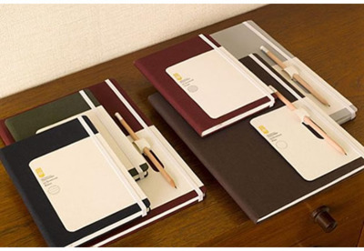 Monocle Stationery Line Monocle's stationery line is designed in-house by their art team.  The notebooks are developed in collaboration with the German manufacturer Brandbook.de and use quality paper from Japan and Sweden.