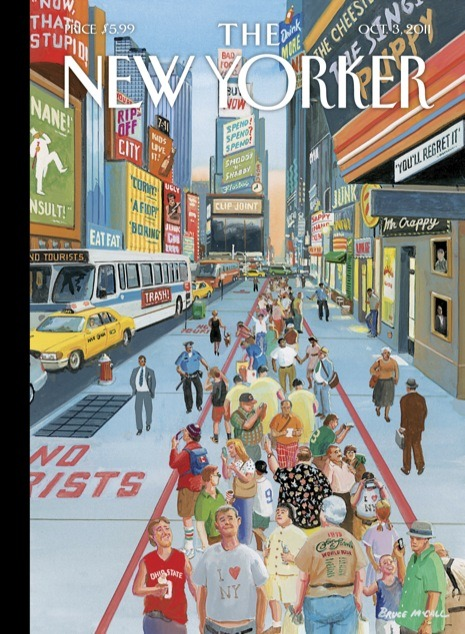 capitalnewyork:  Bruce McCall's New York  Big Bruce McCall fans over here.