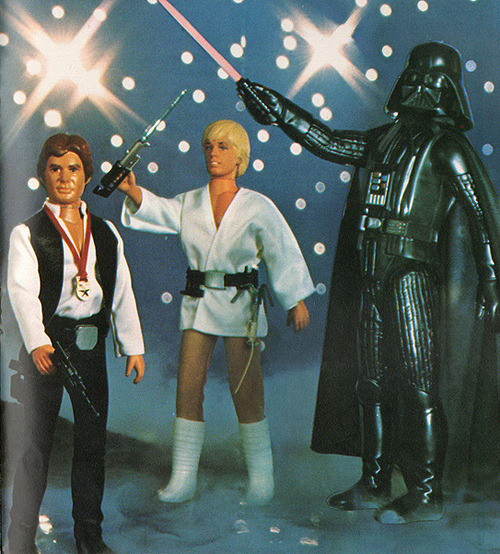 ratherchildish:  I want to rock with you.  All night.  (Kenner, 1978.  via flickr.com)