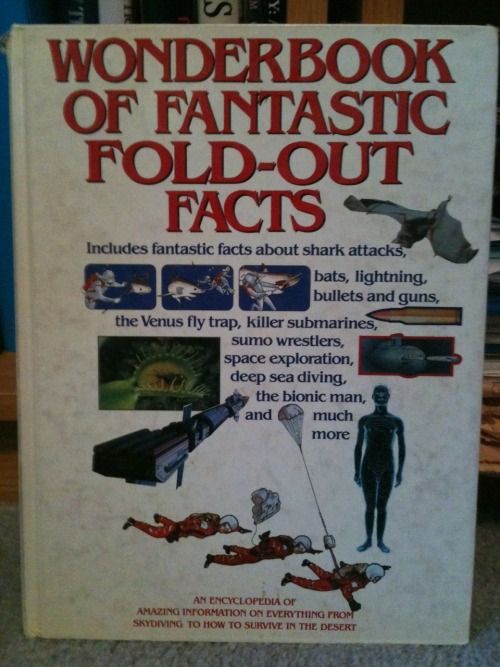 Wonderbook of Fantastic Fold-Out Facts
