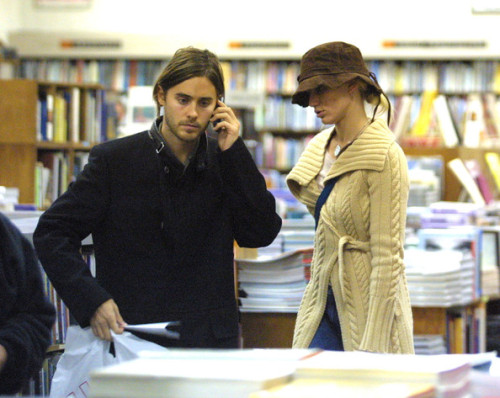 Jared Leto and Cameron Diaz. (photographer unknown)