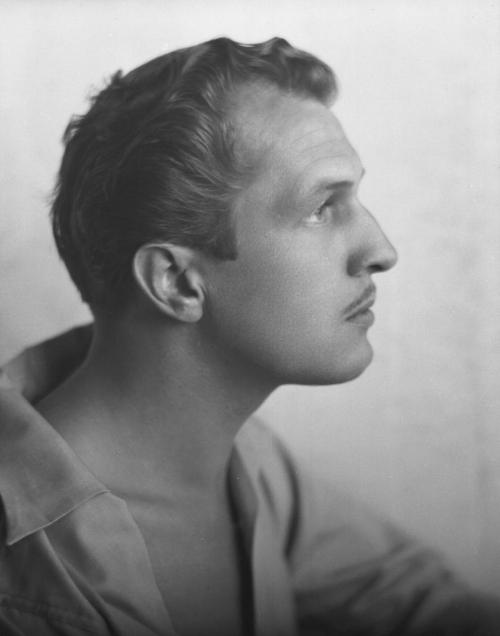 holdthisphoto:  Vincent Price, 1941 by Johan Hagemeyer
