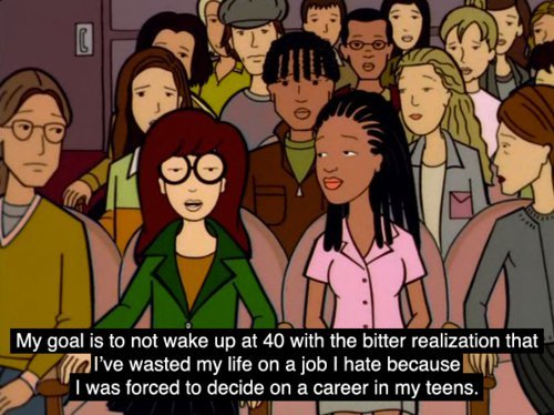 jamjars:  Daria is literally my favourite TV series ever. I wish they made new episodes :-(