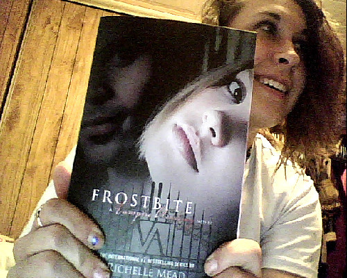 Got the Second Book in the Vampire Academy Series! :D SOOOOO EXCITED TO GET THE REST!