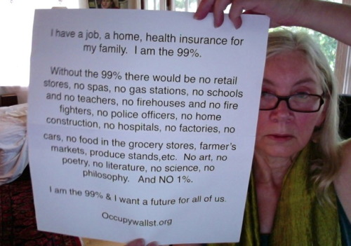wearethe99percent:  Wanting a better future for all of us.