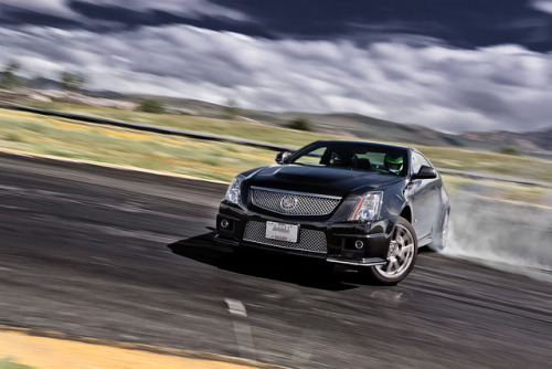 Cadillac CTS-V Coupé drifting by hmbautista on Flickr. wellisnthatnice: