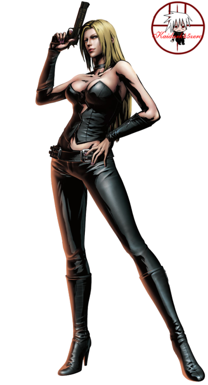 Trish from Devil May Cry, Marvel vs Capcom 3 and Ultimate Marvel vs Capcom 3