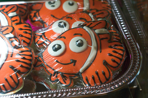 the-mouse-ears:  Goofy's Candy Company Nemo cookies by Groucho Dis on Flickr.