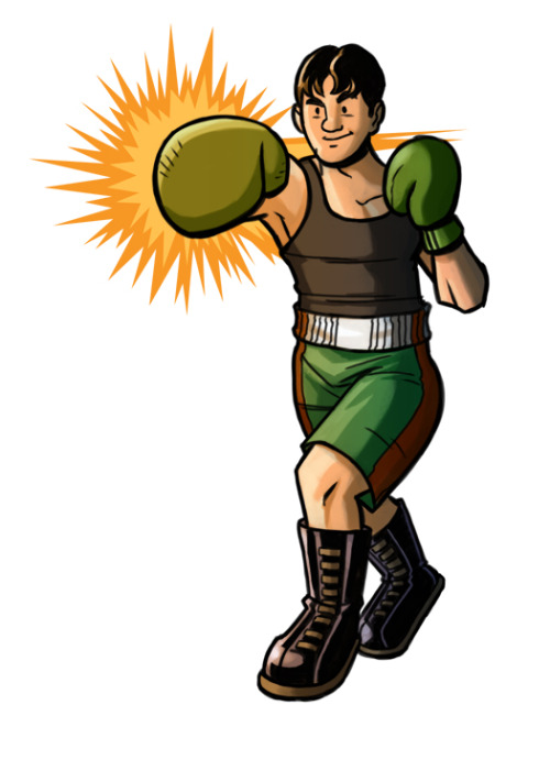 Un Little Mac que j'ai dessiné moi-même! Yay Little Mac!