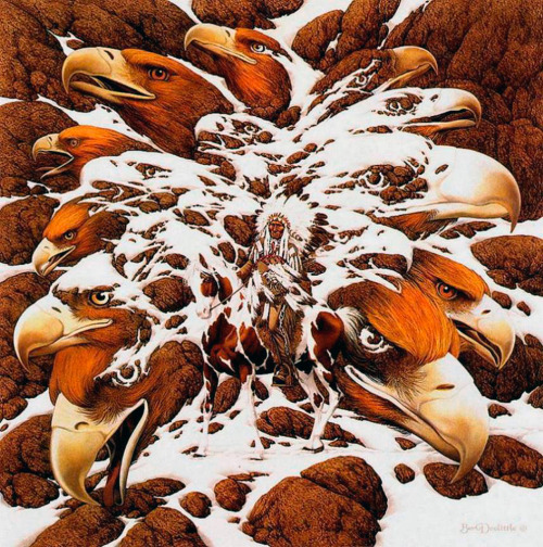 theartofanimation:  Bev Doolittle